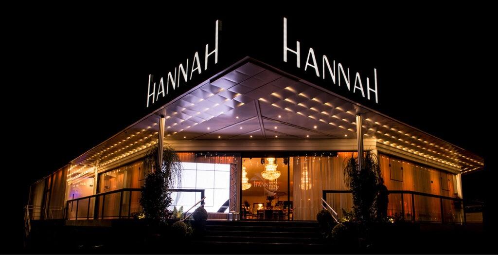 Imagem externa do Hannah Eventos